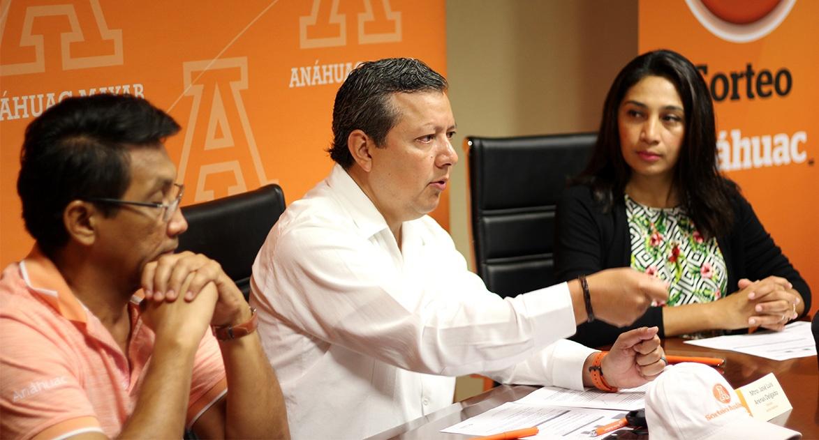 Presentación Sorteo Anáhuac 2018