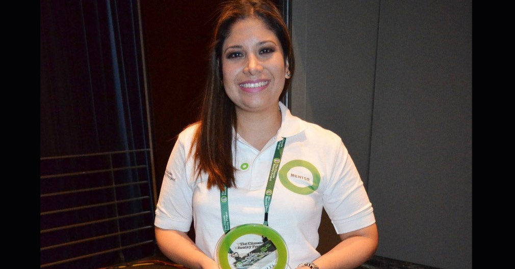 Premio Green Ring Nayelli Hernández