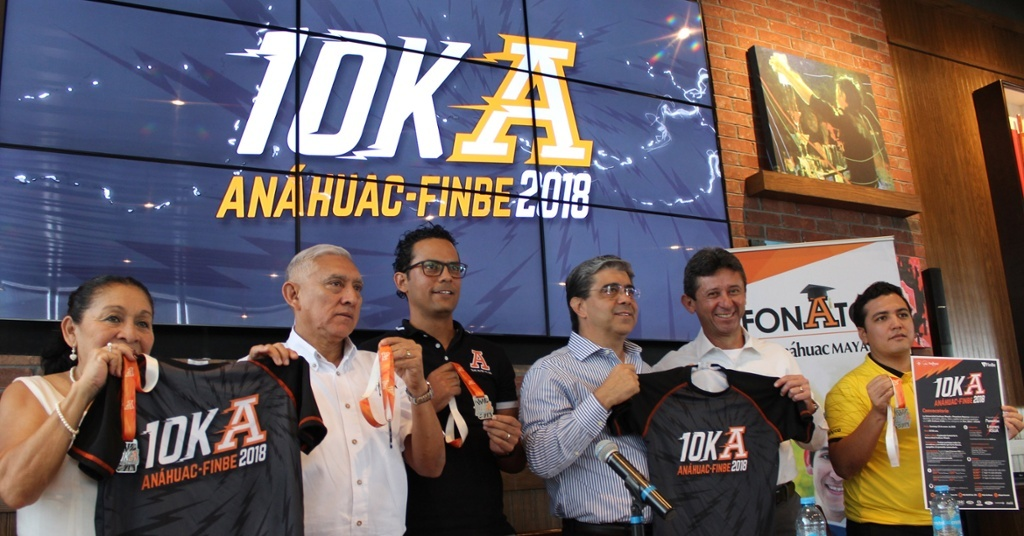 Presentan carrera 10k Anáhuac FinBe